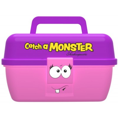 Dětský kufřík Shakespeare Catch a Monster Pink Play Box