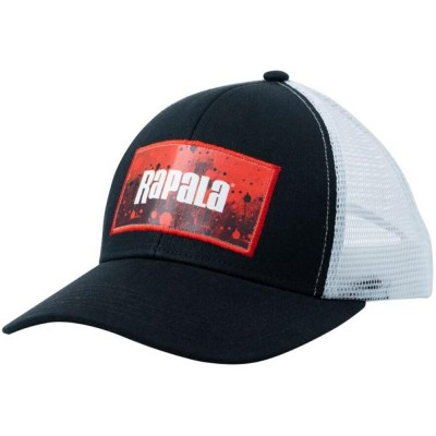 Cap Rapala Splash Trucker Black/Red