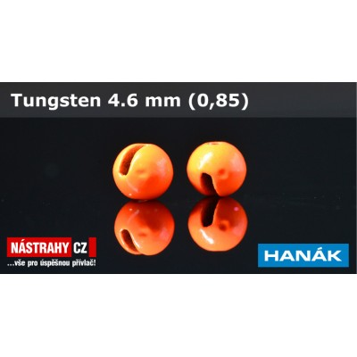 Tungsten Beads 4,6mm 0,85g Orange