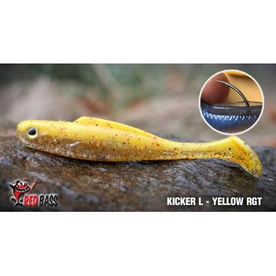 Ripper Redbass Kicker L 100 mm Yellow RGT