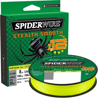Braid Spiderwire Stealth Smooth12 150 m Yellow