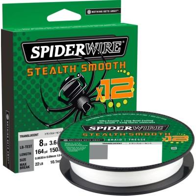 Braid Spiderwire Stealth Smooth12 150 m Translucent