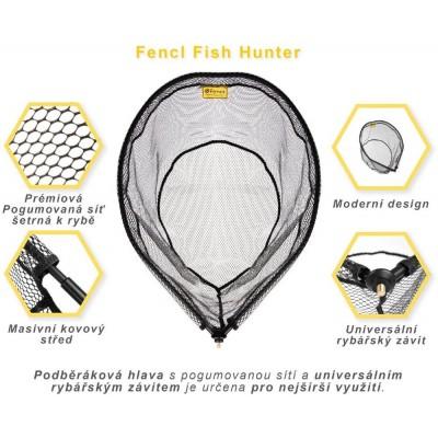 Podběráková hlava Fencl Fish Hunter