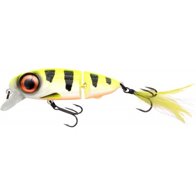 Wobbler Spro Iris Underdog Jointed 8 cm Hot Perch