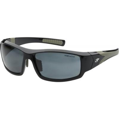 Polarizing Glasses Scierra Wrap Around Sunglasses Grey Lens