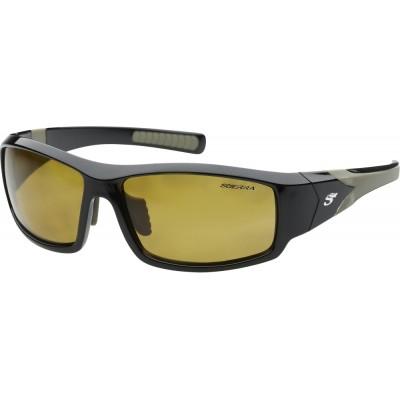 Polarizing Glasses Scierra Wrap Around Sunglasses Yellow Lens