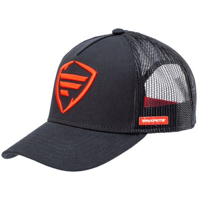 Cap Favorite Red Logo/Black