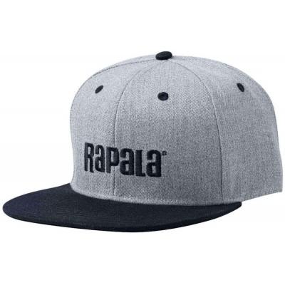 Cap Rapala Flat Brim Grey/Black