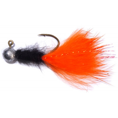 Jigstreamer PS Fly Trout 2 g Black-Orange