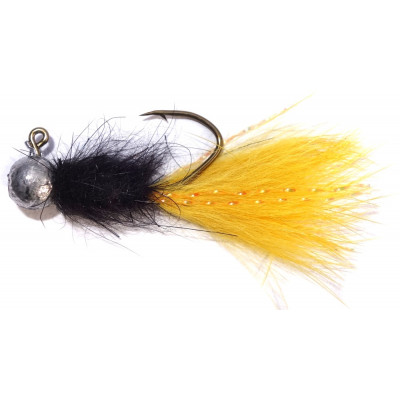 Jigstreamer PS Fly Trout 2 g Black-Yellow