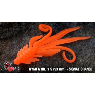 Nymph Redbass Nr. 1 S 53 mm Signal Orange