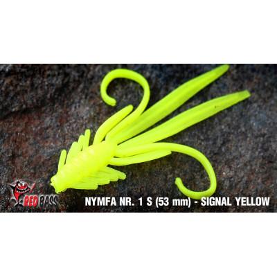 Nymph Redbass Nr. 1 S 53 mm Signal Yellow