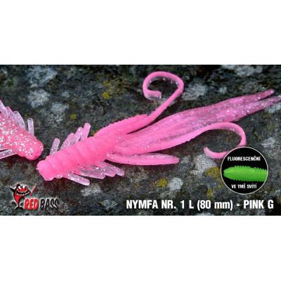 Nymph  Redbass Nr. 1 L 80 mm Pink G