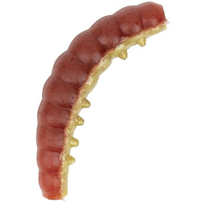 Berkley Honey Worm 2,5 cm Red Yellow 55 Pcs