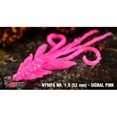 Nymph Redbass Nr. 1 S 53 mm Signal Pink