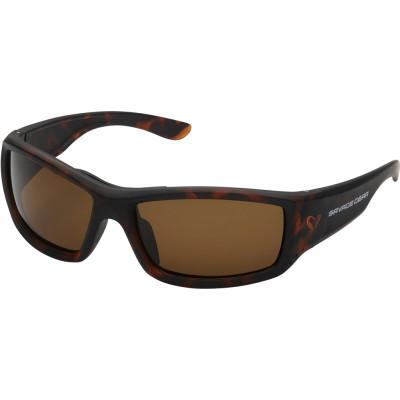 Polarized Sunglasses Savage Gear Savage2 Brown