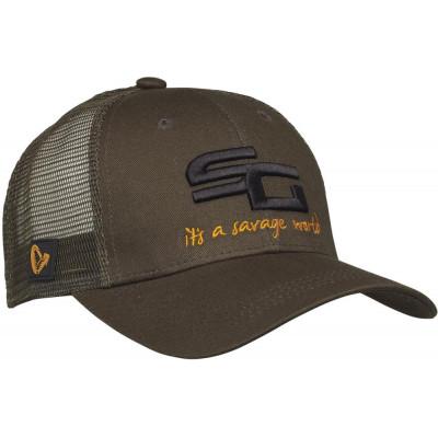 Kšiltovka Savage Gear SG4 Cap Olive Green