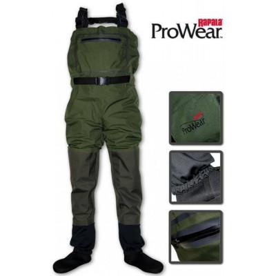 Brodící kalhoty Rapala X-Protect Waders 3+4