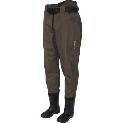 Wading Pants Scierra Kenai 15000 Waist Boot Foot Cleated