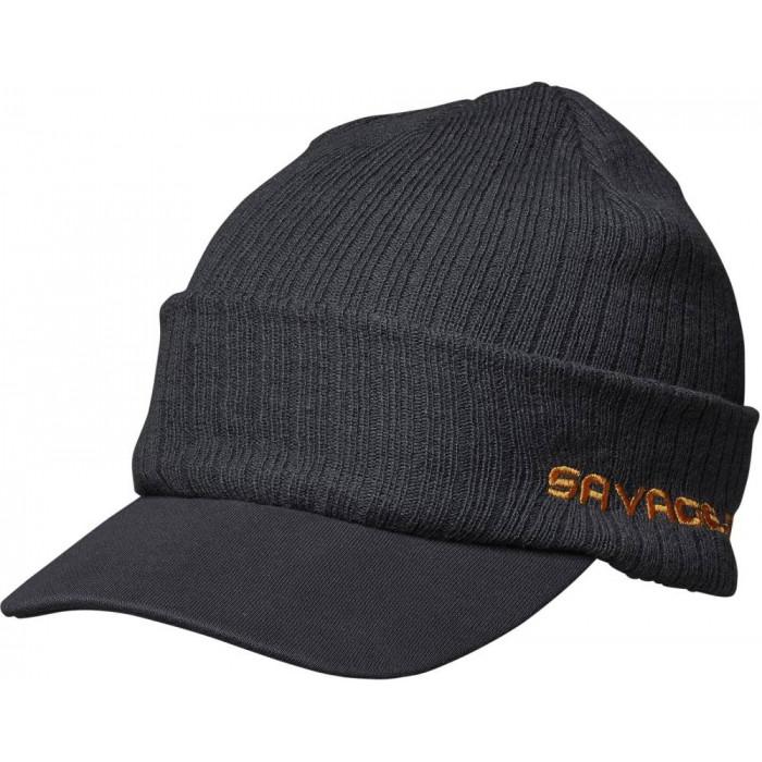 Savage Gear Peak Beanie One Size Rock Grey