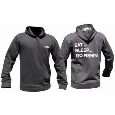 Sweatshirt Jenzi Eat Sleep Go Fishing