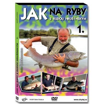 DVD Jak na ryby s Rudou Hrušínským