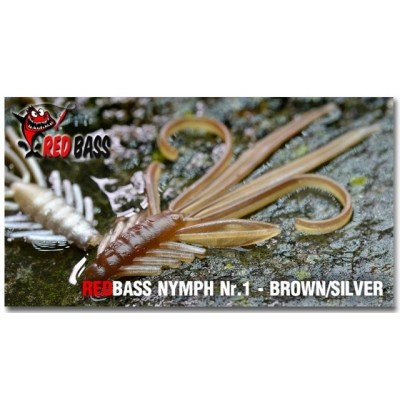 Nymfa Redbass 5,4 cm Brown/Silver