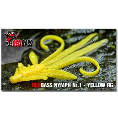 Nymph Redbass Nr. 1 Yellow RG