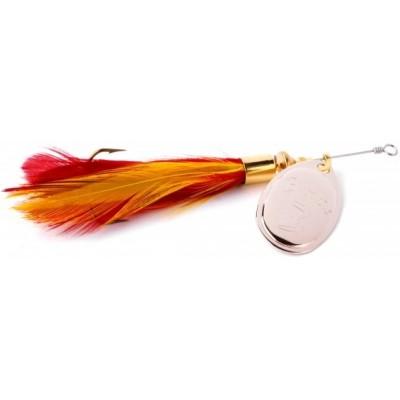 Spinner Emte Kombi 3 Silver/Red & Yellow
