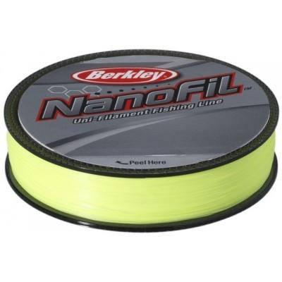 Vlasec Berkley Nanofil 125 m Fluo-žlutý
