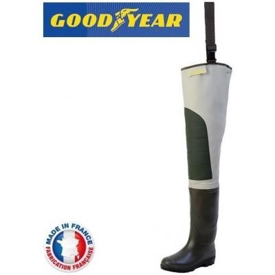 Brodící boty Goodyear Hip Waders Cuissarde Sport