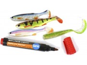 Sady Soft Lure and Markers Kit