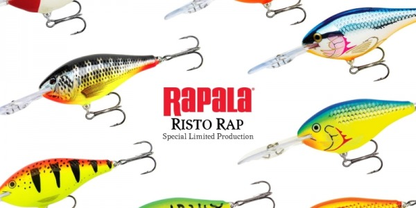 New on offer limited edition of Rapala Risto Rap!