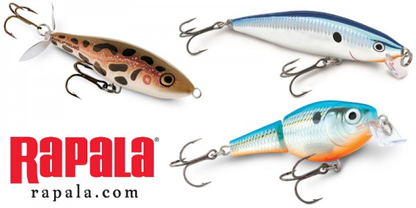 Added assortment Rapala lures!